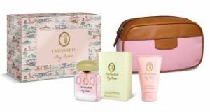 Trussardi-My-Name-On-The-Road-Print-Beauty-Set-Un-set-da-regalare-a-Natale-2014-con-profumo-e-pochette-in-pelle-marrone-e-rosa