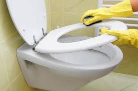 pulire bagno