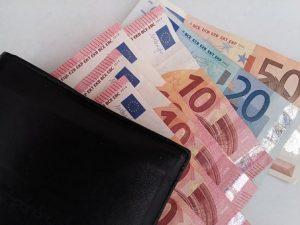 banconote portafoglio